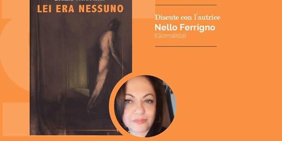 """Letizia Vicidomini presenta """"Lei era nessuno"""" alla libreria Ubik di Nocera Inferiore (SA)"""