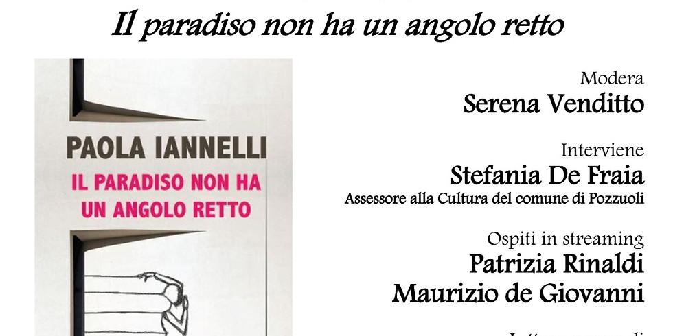 """Paola Iannelli presenta """"Il paradiso non ha un angolo retto"""" a Palazzo Migliaresi"""