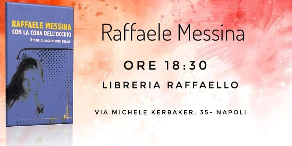 """Raffaele Messina presenta """"Con la coda dell'occhio"""" alla libreria Raffaello"""