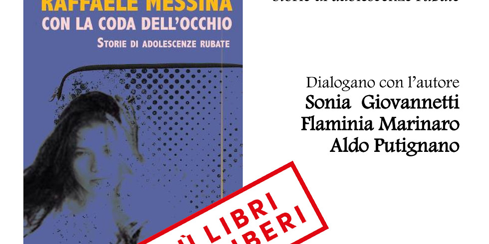 """Raffaele Messina presenta """"Con la coda dell'occhio"""" durante la fiera Più Libri Più Liberi"""