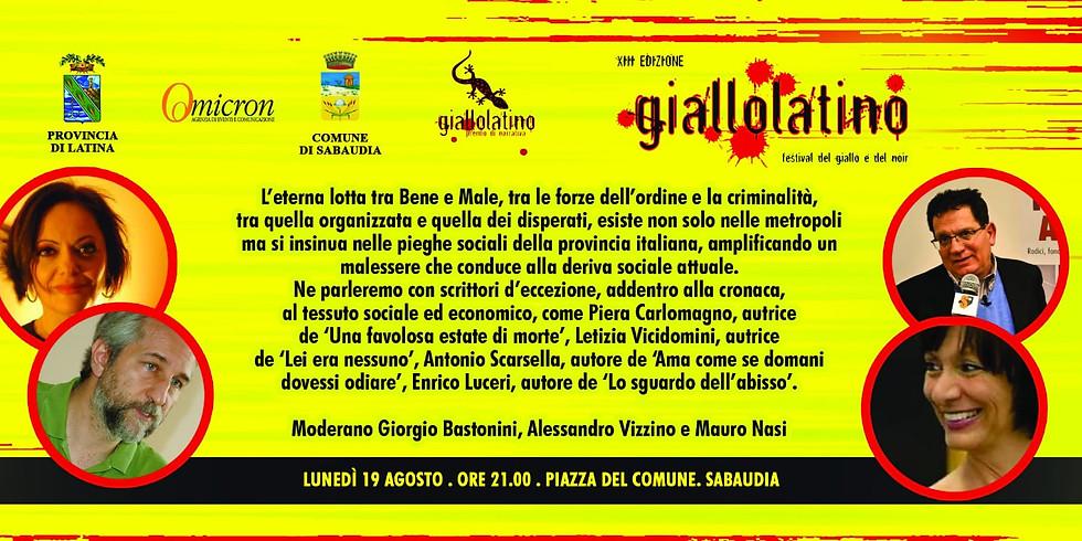 """Letizia Vicidomini ospite della XIII edizione di """"Giallolatino"""""""