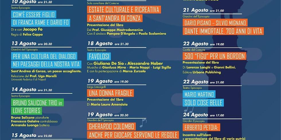 """Luis Vinicio presenta """"Il Leone di Belo Horizonte"""" a Sant'Andrea di Conza (AV)"""