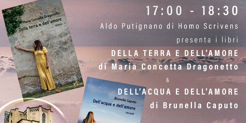 Brunella Caputo e Maria Concetta Dragonetto al Chiostro di Sant'Eligio