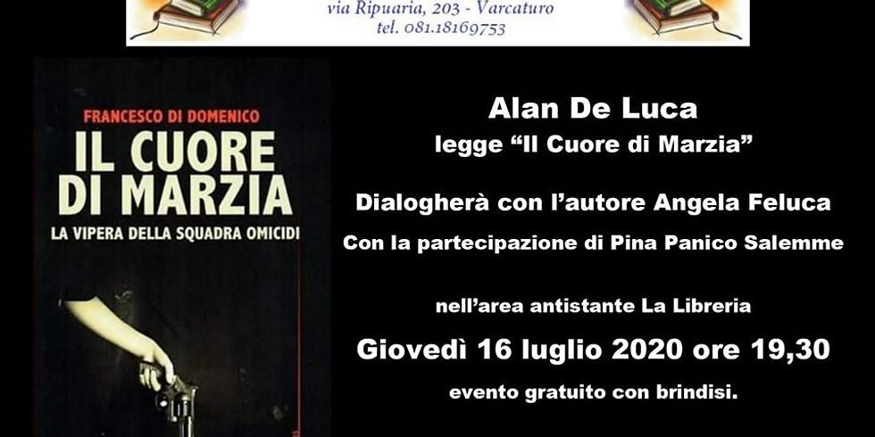 """Francesco Di Domenico presenta """"Il cuore di Marzia"""" a Varcaturo (CE)"""