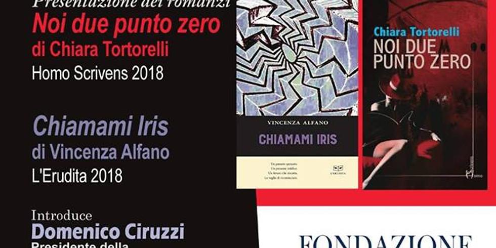 """Chiara Tortorelli presenta """"Noi due punto zero"""" presso la Fondazione Premio Napoli"""