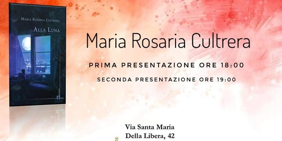 Incontri d'autore - Maria Rosaria Cultrera