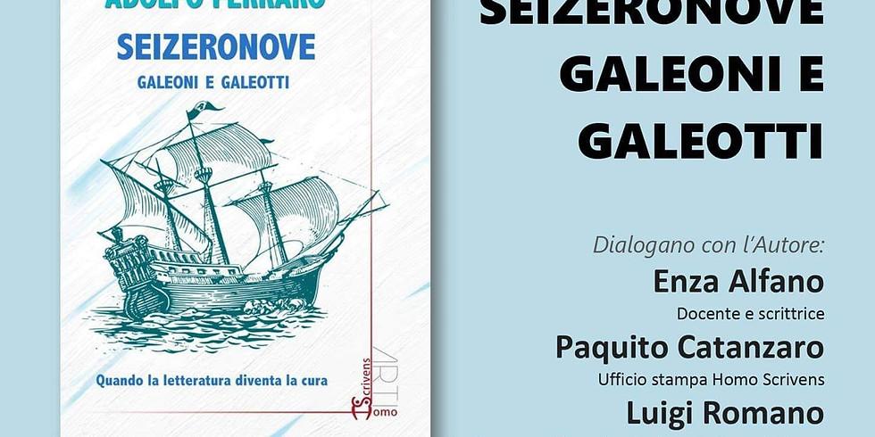 """Adolfo Ferraro presenta """"Seizeronove"""" presso la libreria Iocisto"""