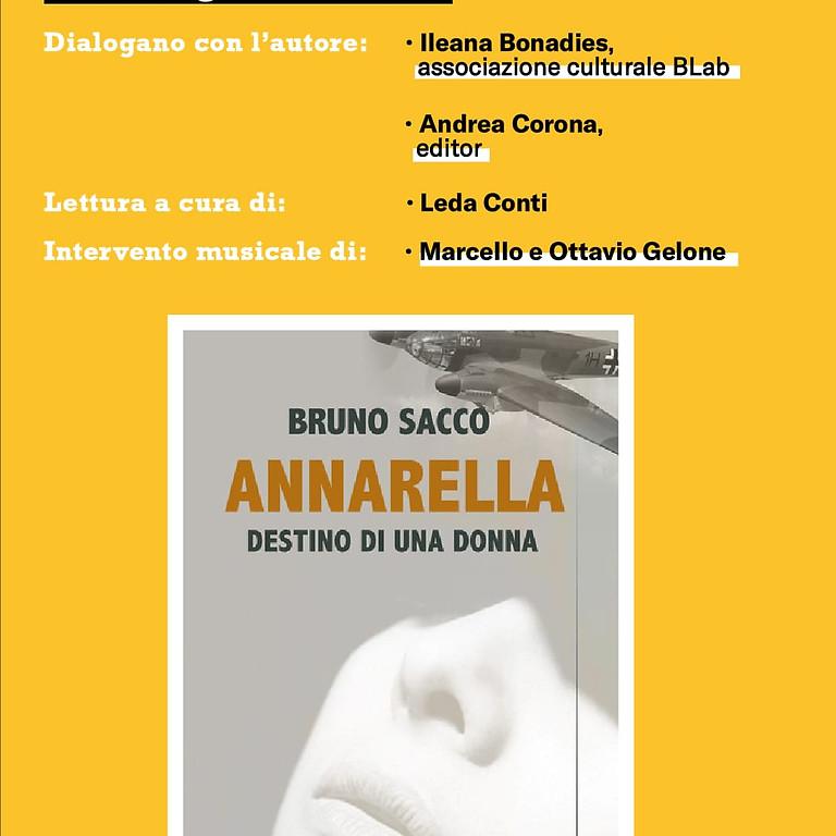 """Bruno Sacco presenta """"Annarella"""" a Portici"""