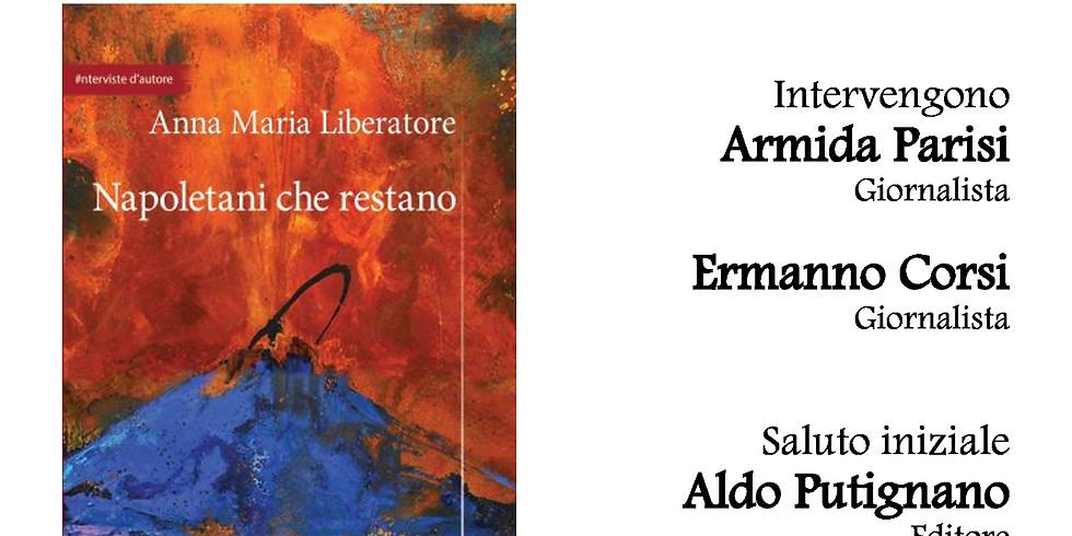 """Anna Maria Liberatore presenta """"Napoletani che restano"""" presso la galleria d'arte Al Blu di Prussia di Napoli"""