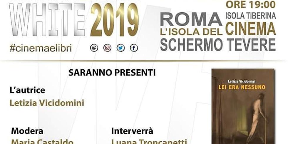 """Letizia Vicidomini ospite di """"Cinema & libri white 2019"""""""