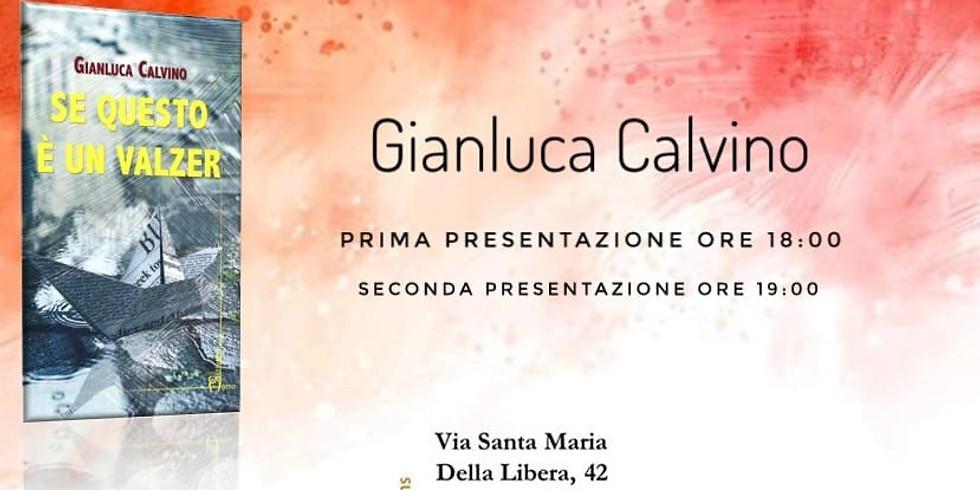 Incontri d'autore - Gianluca Calvino