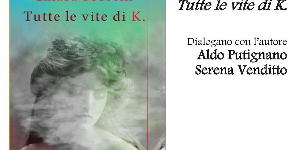 """Chiara Morelli presenta """"Tutte le vite di K."""" alla libreria Raffaello"""