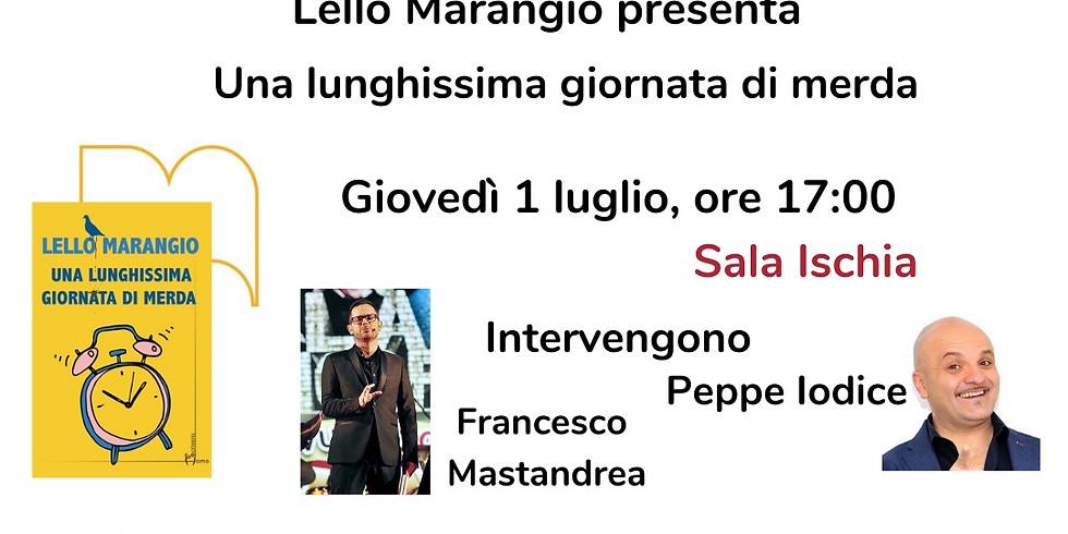 """Lello Marangio presenta """"Una lunghissima giornata di merda"""" alla Fiera del Libro di Napoli"""