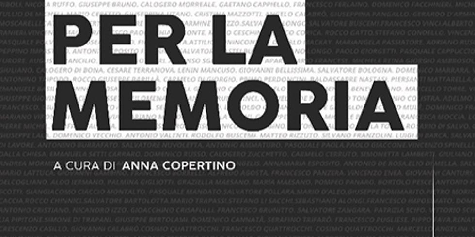 """Presentazione del volume """"Un giorno per la memoria"""" alla libreria Scarlatti di Napoli"""