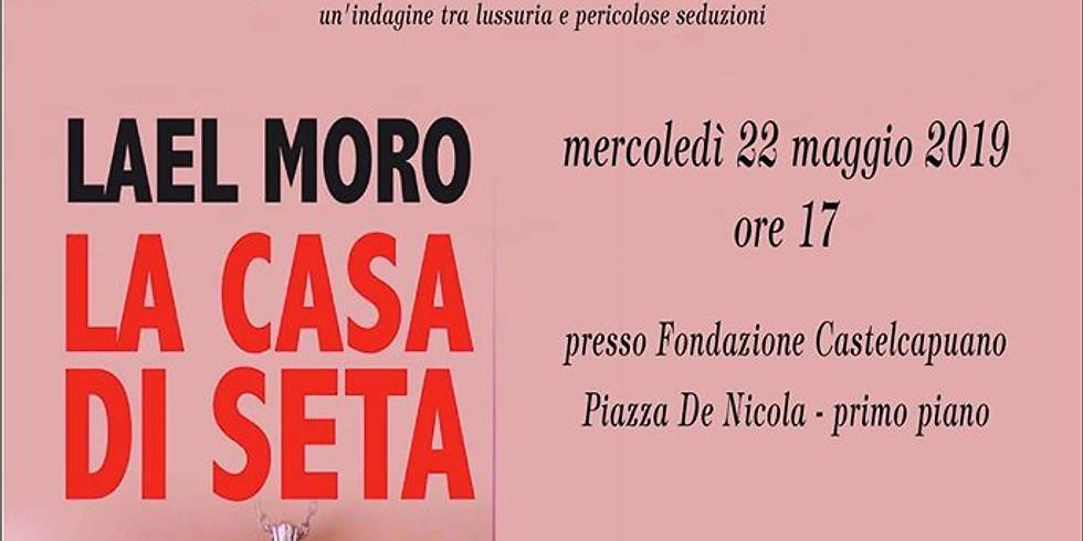 """Presentazione de """"La casa di seta"""" di Lael Moro presso Castel Capuano a Napoli"""