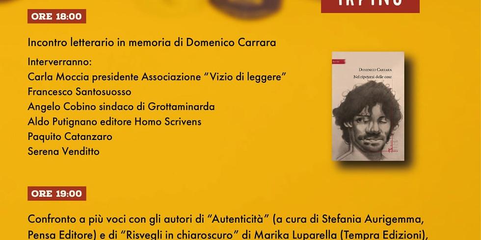 """Presentazione di """"Nel ripetersi delle cose"""" ad Ariano Irpino (AV)"""