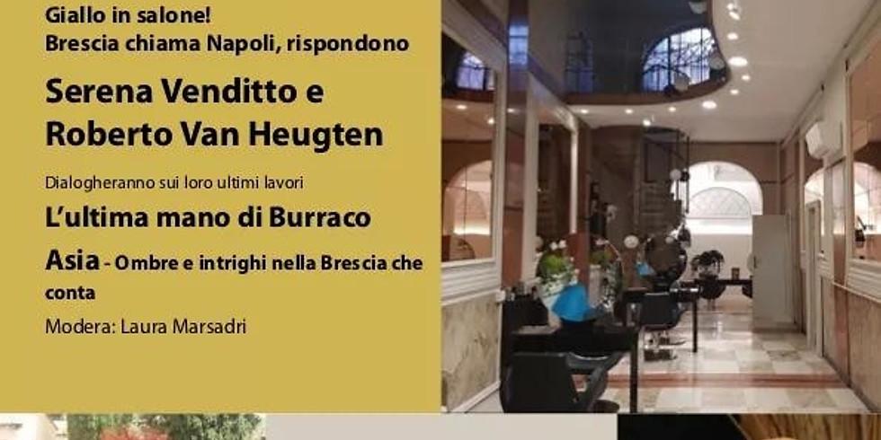 """Serena Venditto e Roberto Van Heughten protagonisti di """"Giallo in salone!"""" a Brescia"""