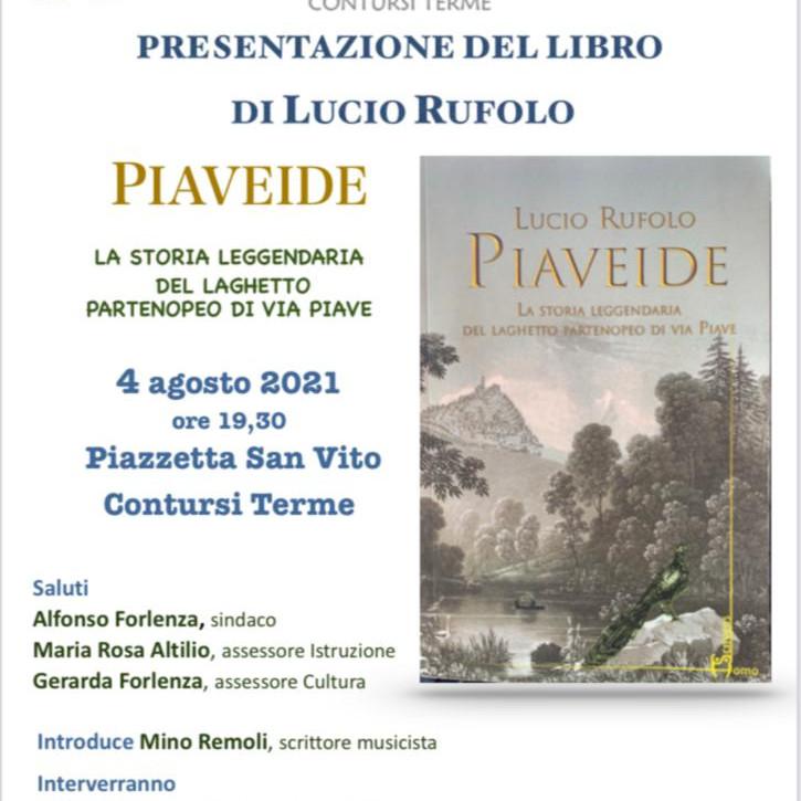 """Presentazione di """"Piaveide"""" a Contursi Terme (SA)"""