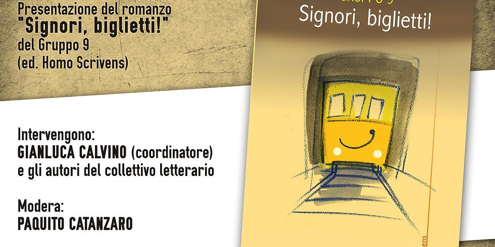 """Il Gruppo 9 presenta """"Signori, biglietti!"""" a Ercolano (NA)"""
