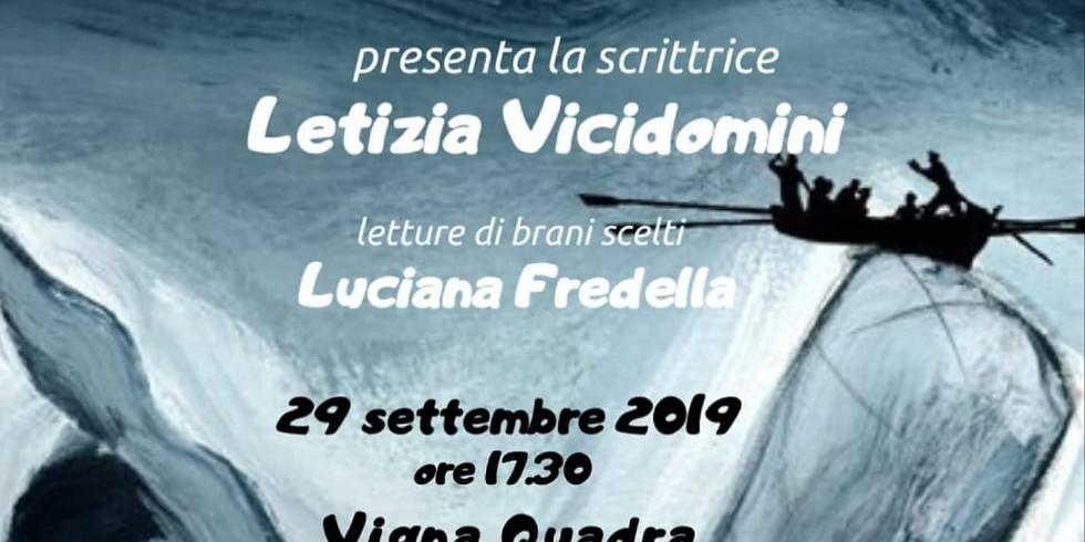 """Letizia Vicidomini presenta """"Lei era nessuno"""" a Foggia"""