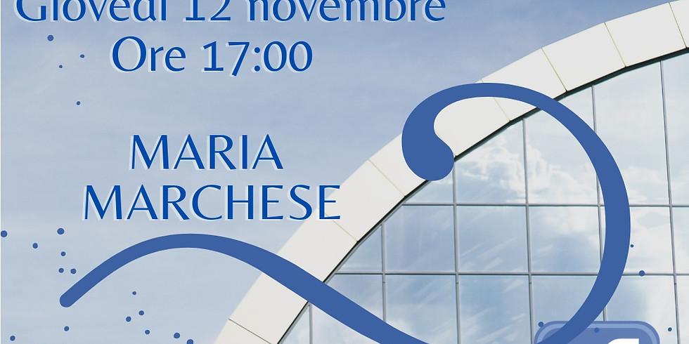 """Maria Marchese presenta """"Una via dritta"""" sulla pagina facebook di Homo Scrivens"""