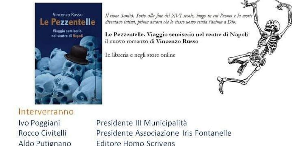 """Vincenzo Russo presenta """"Le Pezzentelle"""" alla chiesa di Sant'Agostino degli scalzi"""