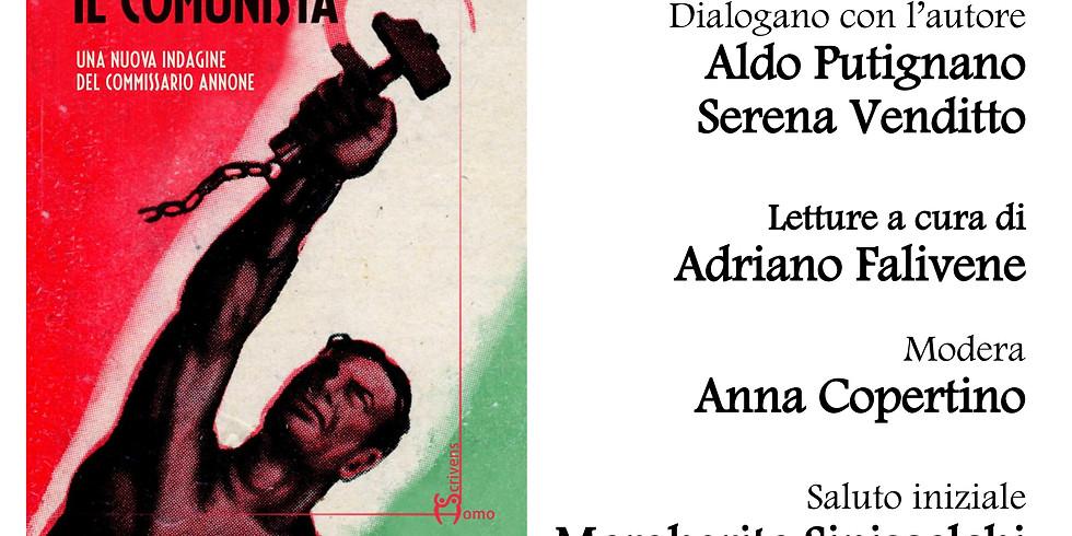 """Angelo Mascolo presenta """"Il comunista"""" alla libreria Raffaello"""