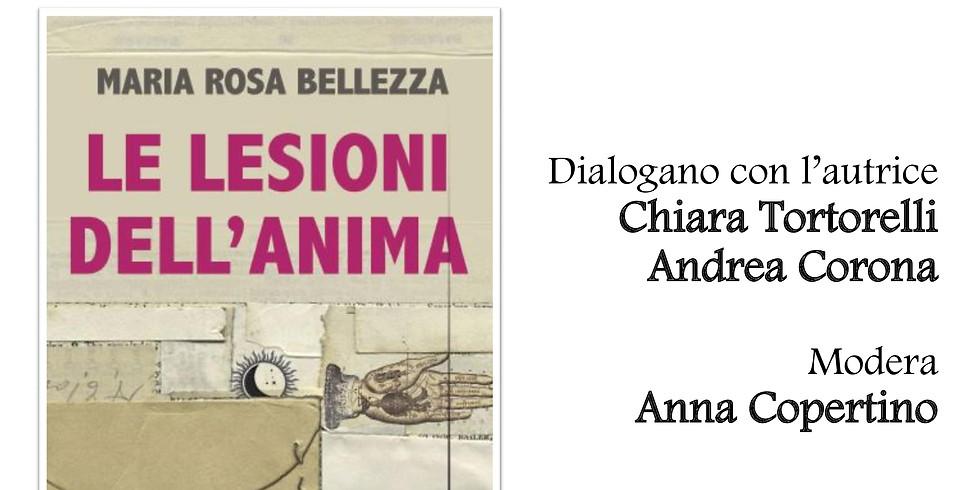 """Maria Rosa Bellezza presenta """"Le lesioni dell'anima"""" alla libreria Scarlatti"""