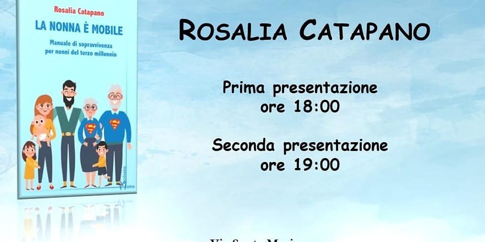 """Rosalia Catapano presenta """"La nonna è mobile"""" in sede"""