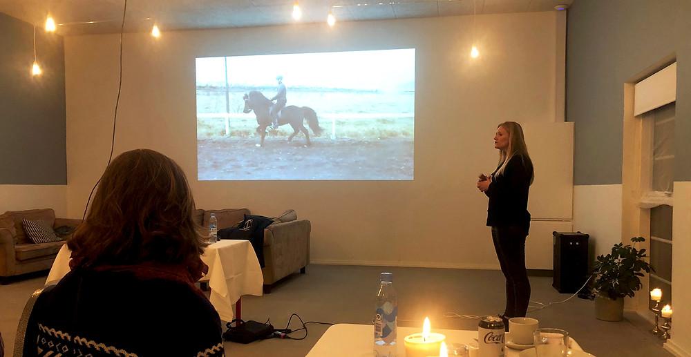 Clinic med Julie Christiansen i Hekla
