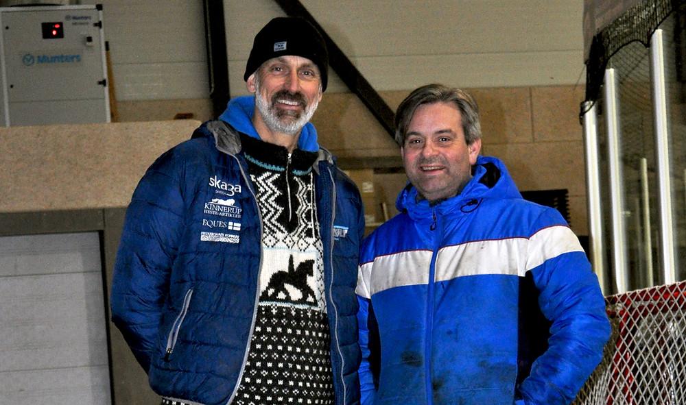 Jan Michael Madsen og Siggo Oskarsson