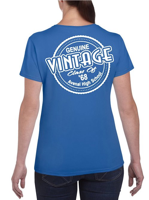 Women's Vintage Alumni Tee