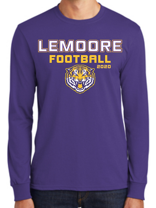 Printed Log Sleeve Tshirt - Purple