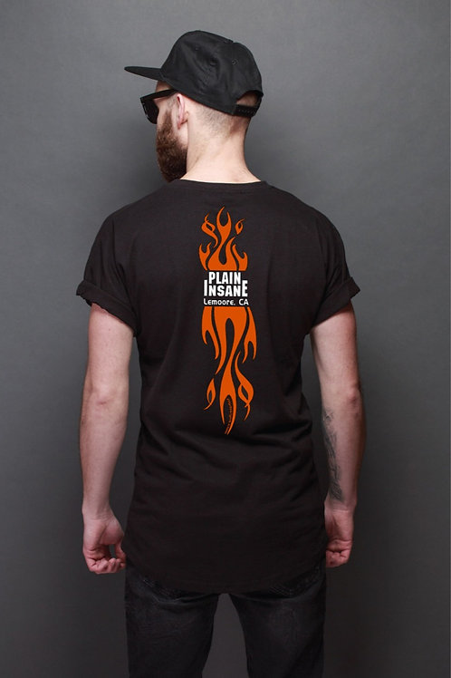 Men's Flame Back Tee