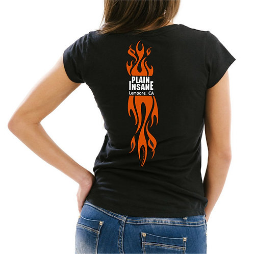 Women's Flame Back Tee