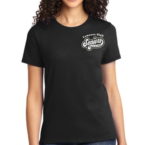 Class of 2021 GLITTER Ladies Tshirt