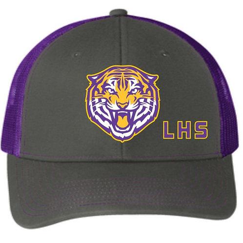 Embroidered Mesh Adjustable Hat