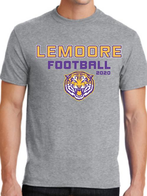 Printed Short Sleeve Tshirt - Grey