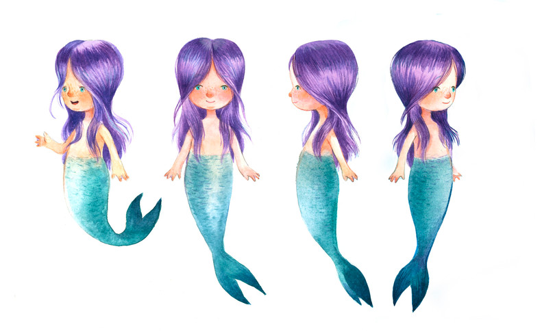 The Little Mermaid character