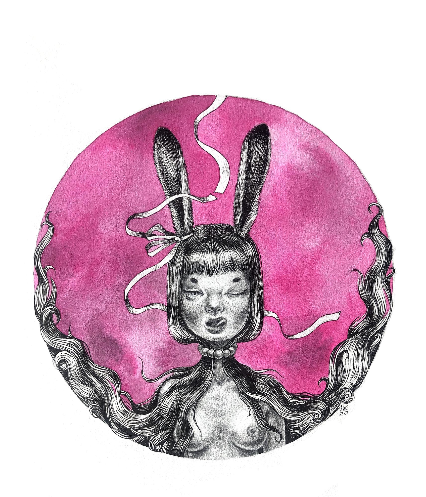 Bunny. Composition 1