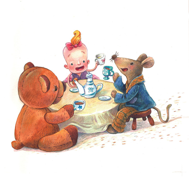 Tea time with Toys