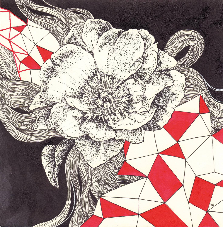 Geometria. Piony