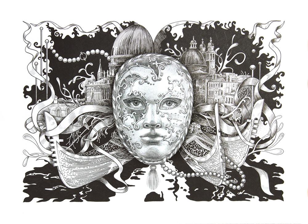 Venice. Mask.