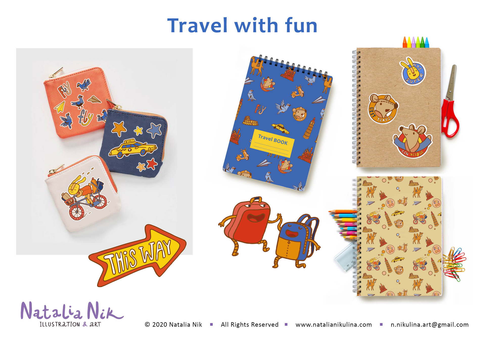 Travel with fun. licensing collection