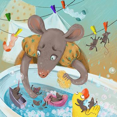 Funny Bathing