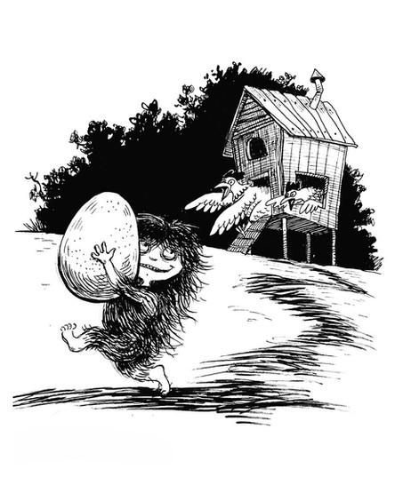 Mumbla and stolen Egg