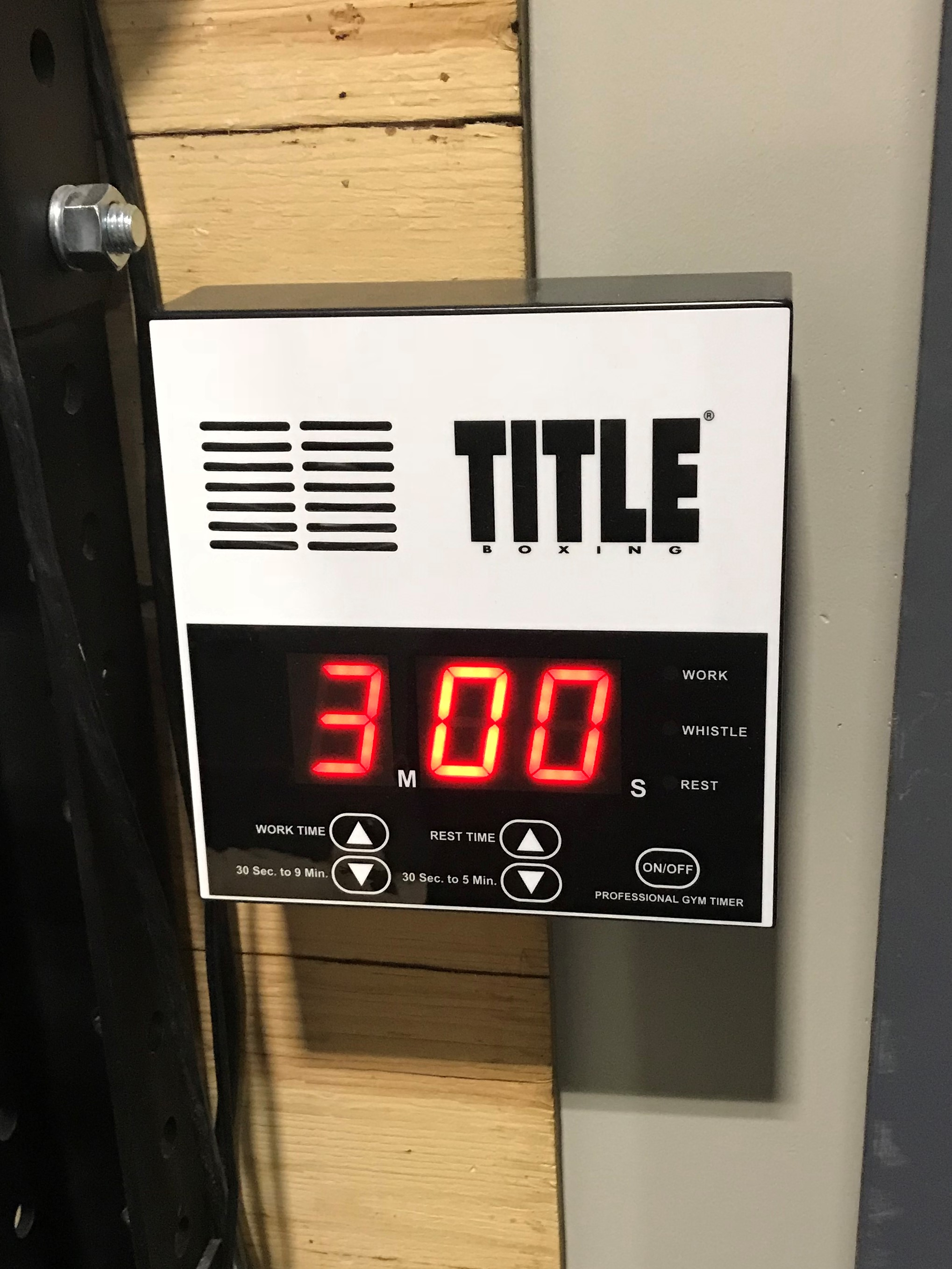 Title Boxing Timer