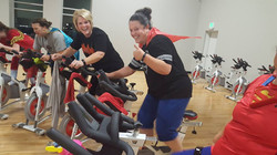 Cycling Super Hero day during Halloween 2017