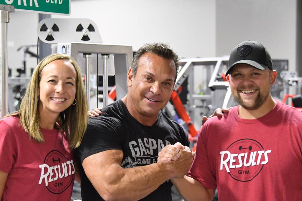 Chelsea and Bryan with Rich Gaspari