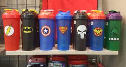 Super Hero Shakers